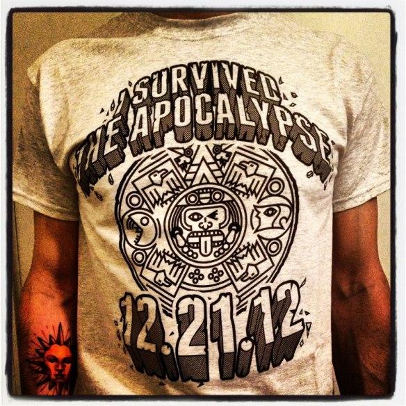 Apocalypse Tee 2012!