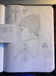 Knit Viking Cap